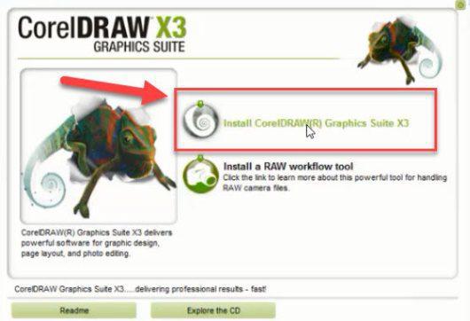 عکس دانلود رایگان کورل CorelDraw Graphic suite X3