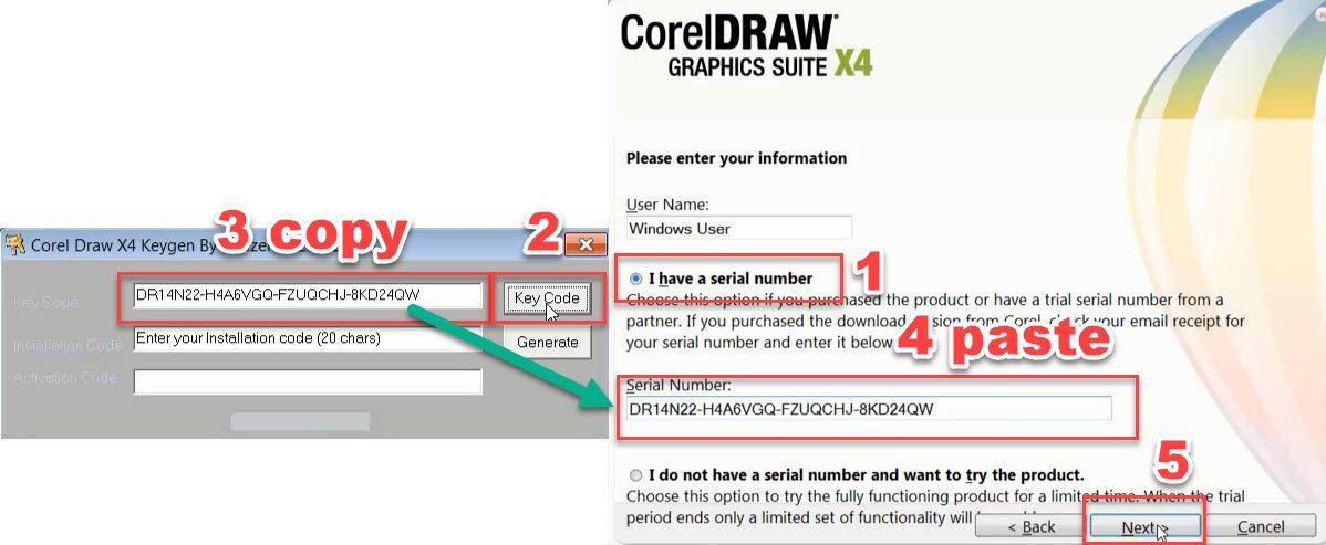 عکس دانلود رایگان کورل CorelDraw Graphic suite X4
