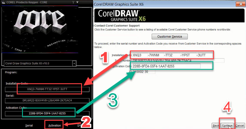 عکس دانلود رایگان کورل CorelDraw Graphic suite X6
